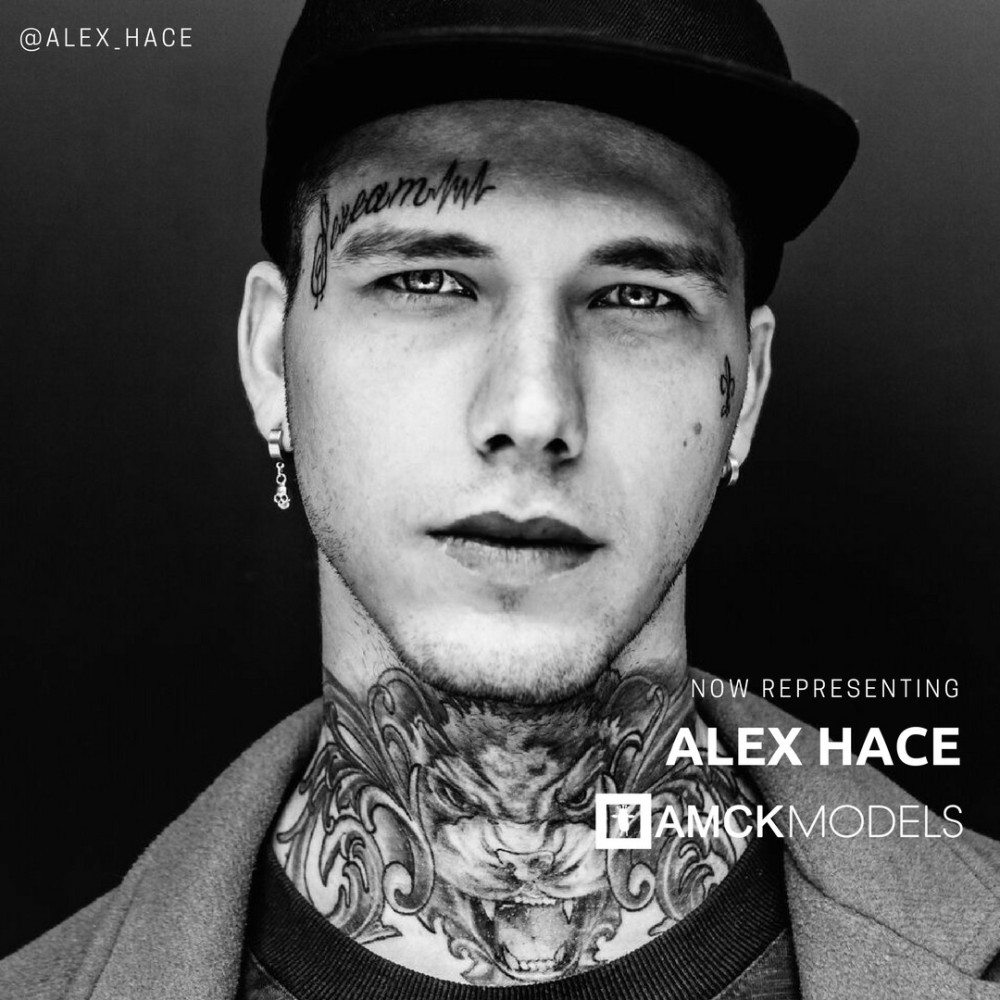 Now Representing: ALEX HACE