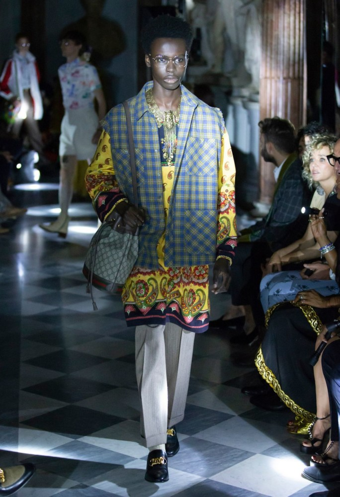 Emmanuel in Gucci Cruise 2020