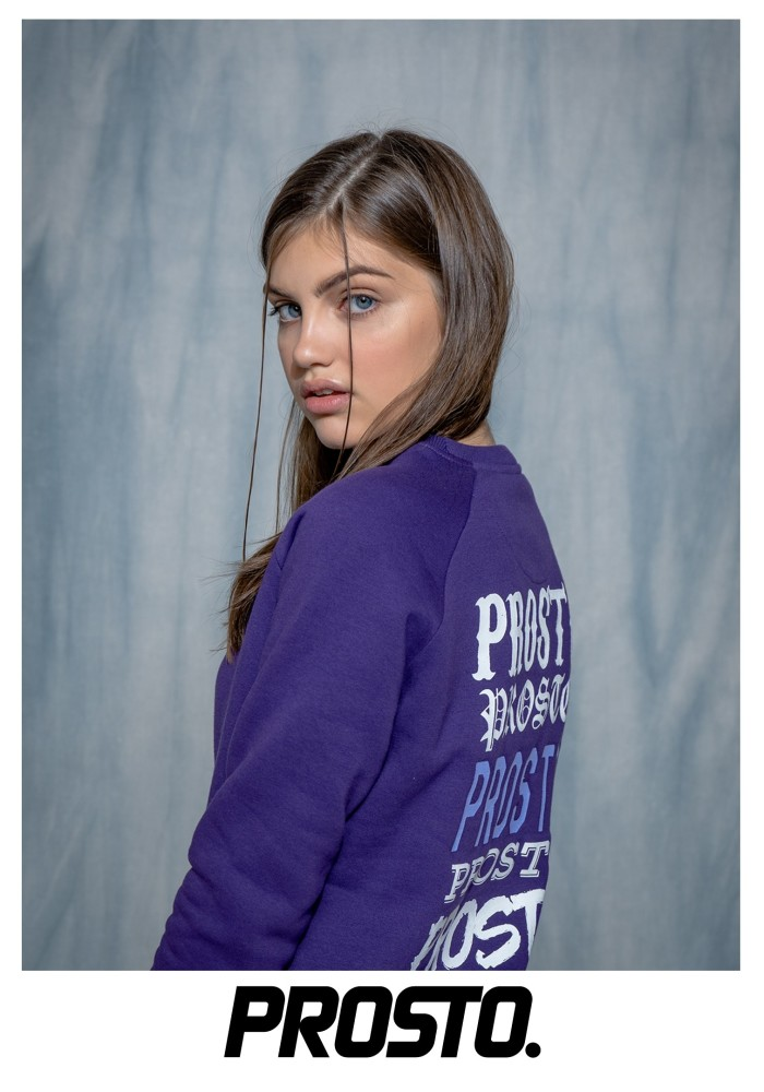 Viki Nosek for PROSTO 'Back to School' Lookbook