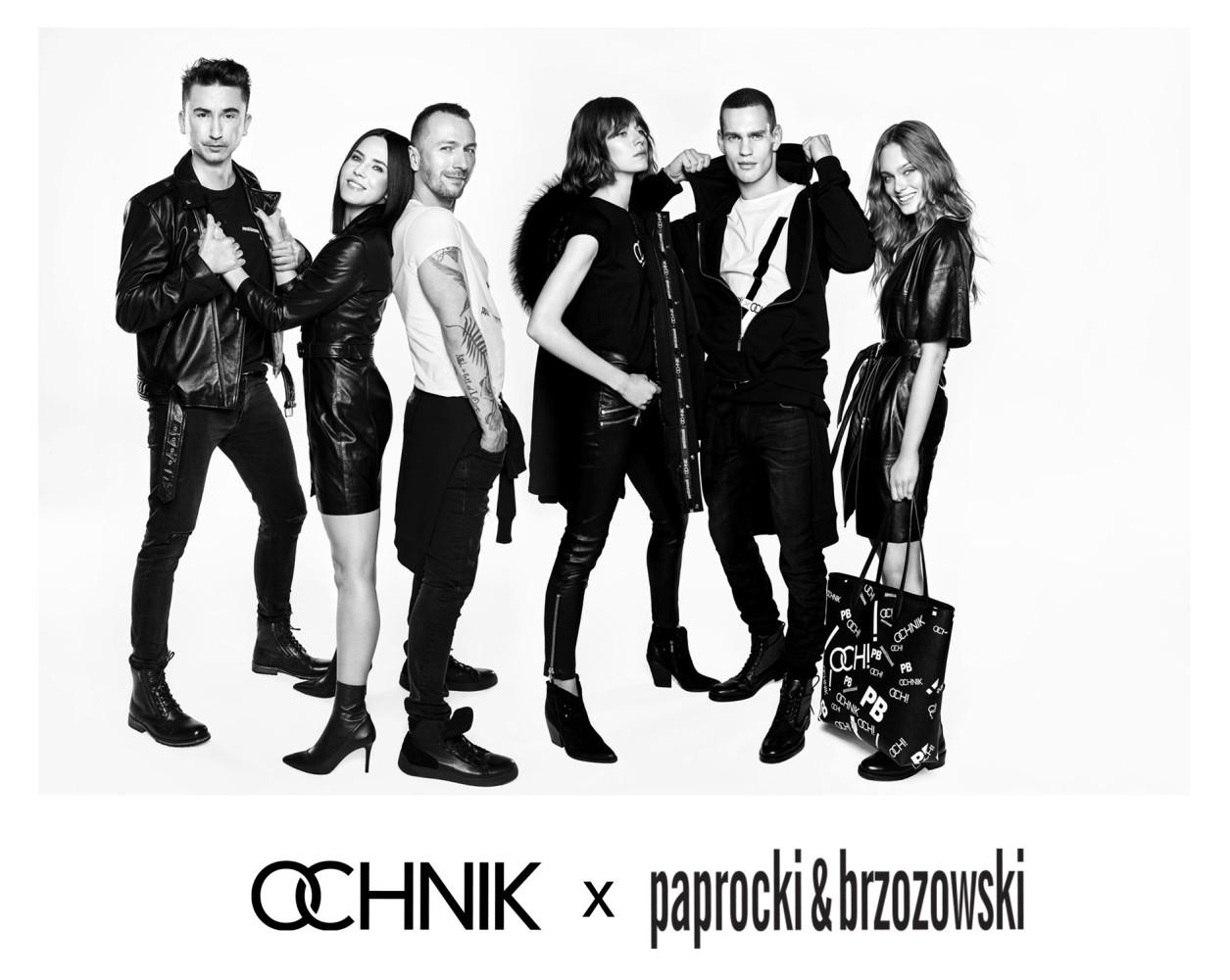 Ivan Zaretski for Paprocki&Brzozowski x OCHNIK FW 2019 Campaign