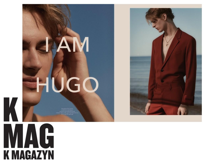Dominik Sadoch by Piotr Serafin for KMAG x HUGO BOSS, K MAG 98 Ironic Issue