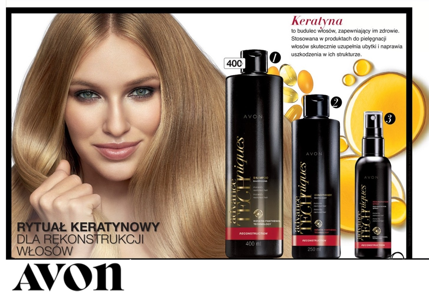 Adrianna Daniel for new AVON Catalogue