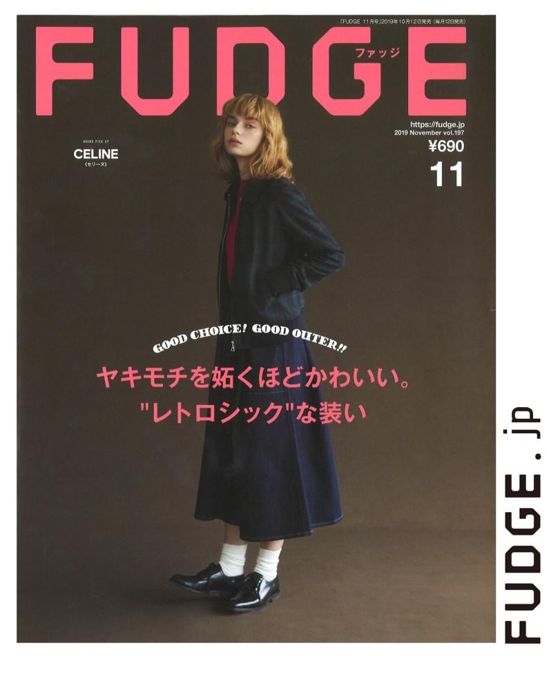 Nat Bernacka for FUDGE Magazine, November 2019