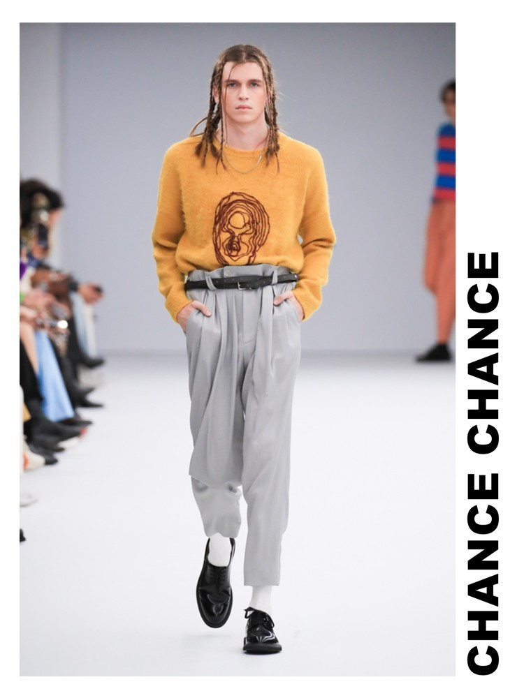 Jakub Kierzkowski for CHANCE CHANCE SS 2020 Seoul Fashion Week