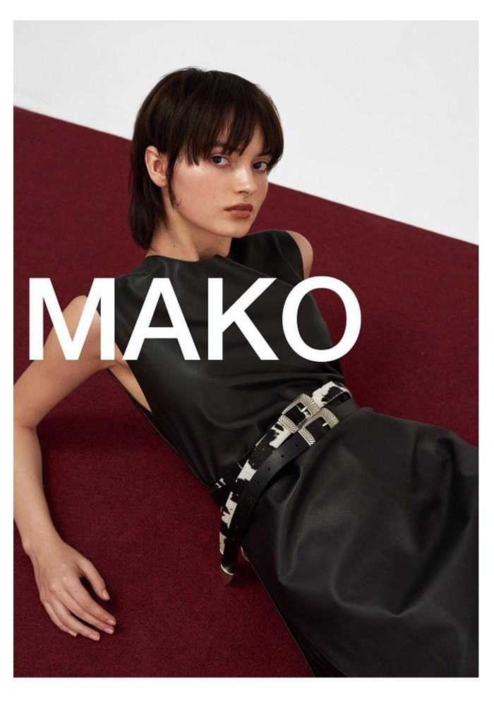 Greta Hajwos by Mateusz Stefanowski for MAKO AW19.20 <3