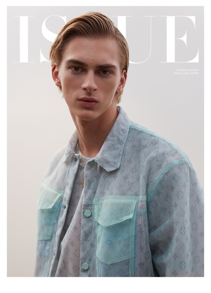 Dominik Sadoch by Ben Lamberty for Issue Magazine COVER