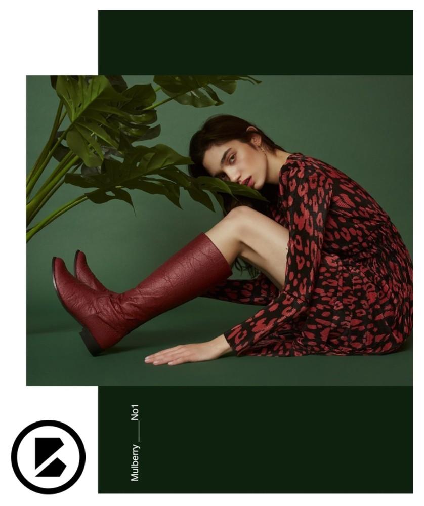 Julia Borowiecka for BOHEMA CLOTHING Lookbook 'UNIQUENESS'