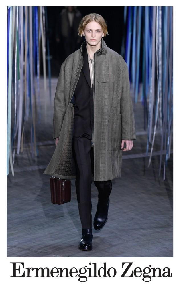 Michał Borzuchowski for ERMENEGILDO ZEGNA FW 2020 Milan Fashion Week