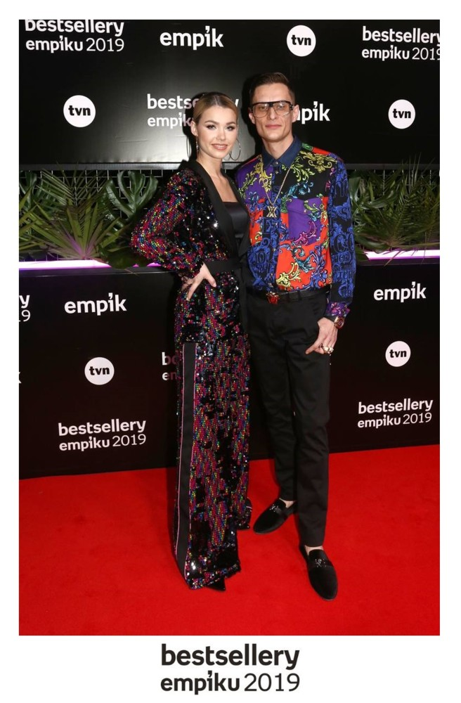 Sandra Gutkowska z mężem Marcinem Kalim Gutkowskim Bestsellery Empiku 2019