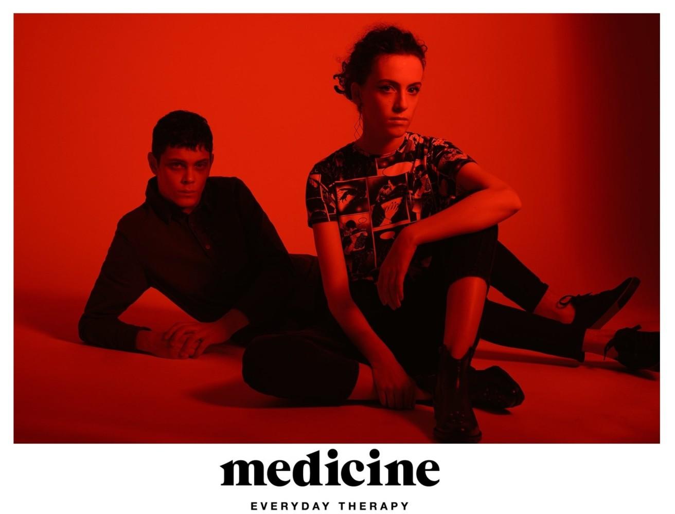 Emma Leveilley & Ihor Liubchenko for MEDICINE Valentine's Collection 2020