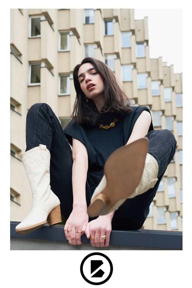 Julia Borowiecka by Malwina Sulima for BOHEMA Clothing new collection