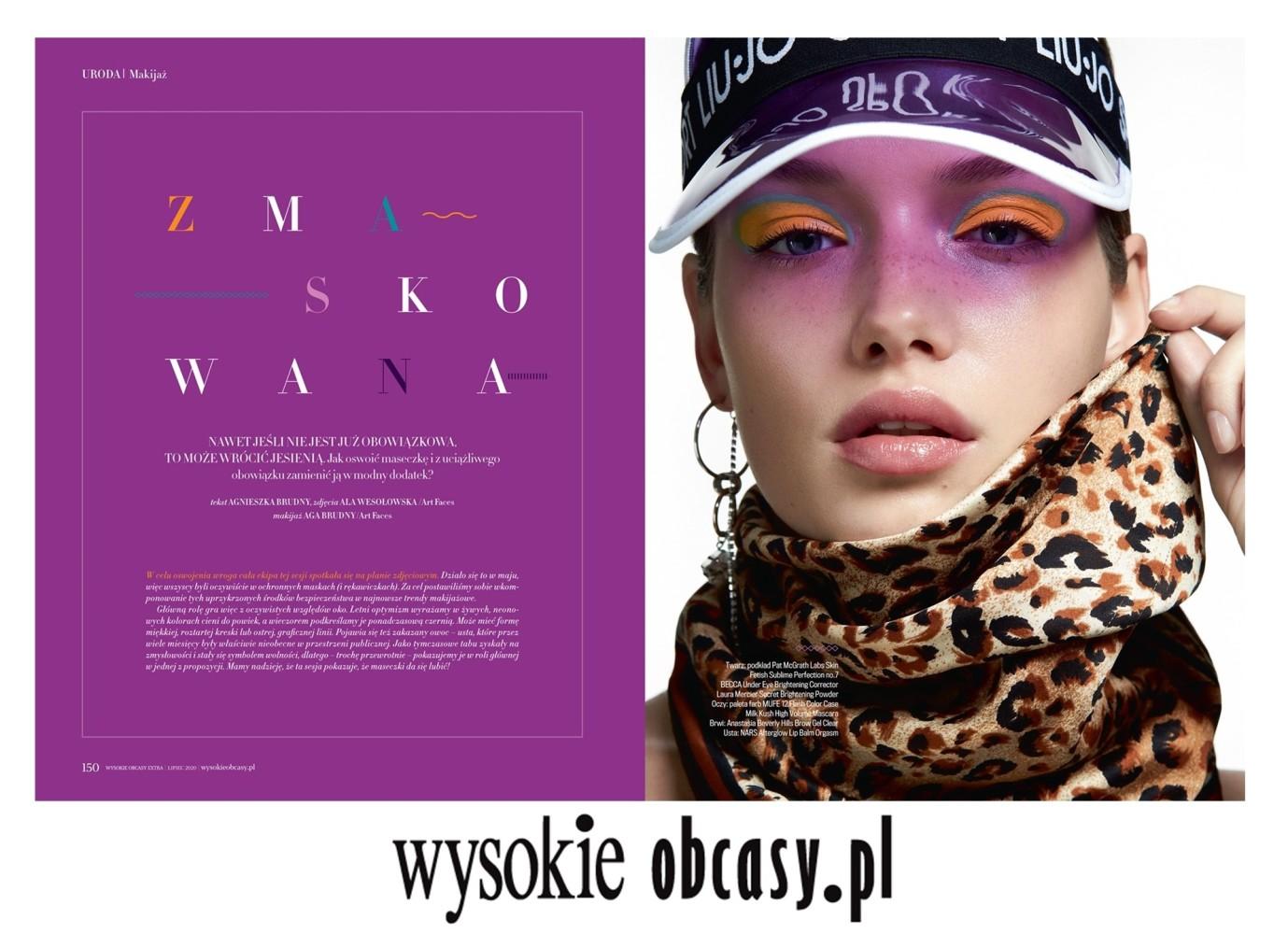 Olga Nowotarska by Ala Wesołowska for Wysokie Obcasy
