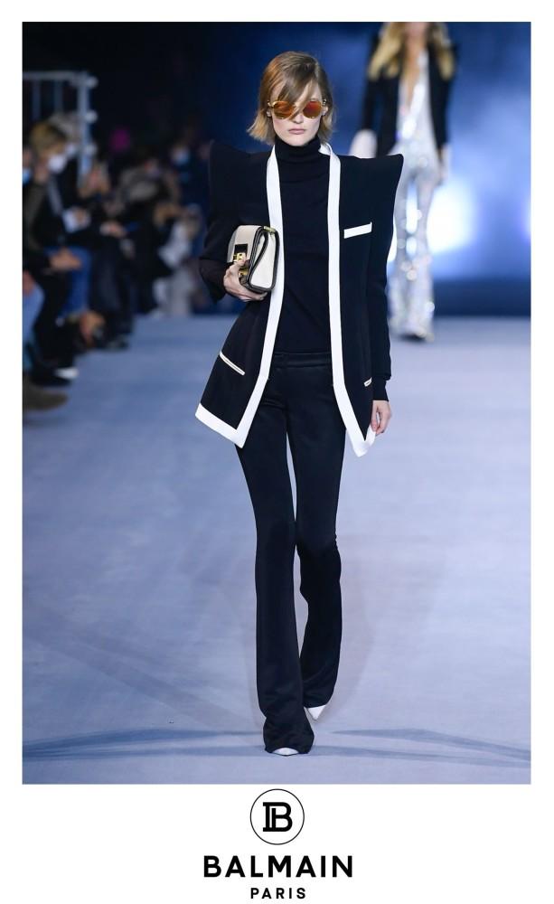 Ireen for BALMAIN S/S 2020  Paris Fashion Week