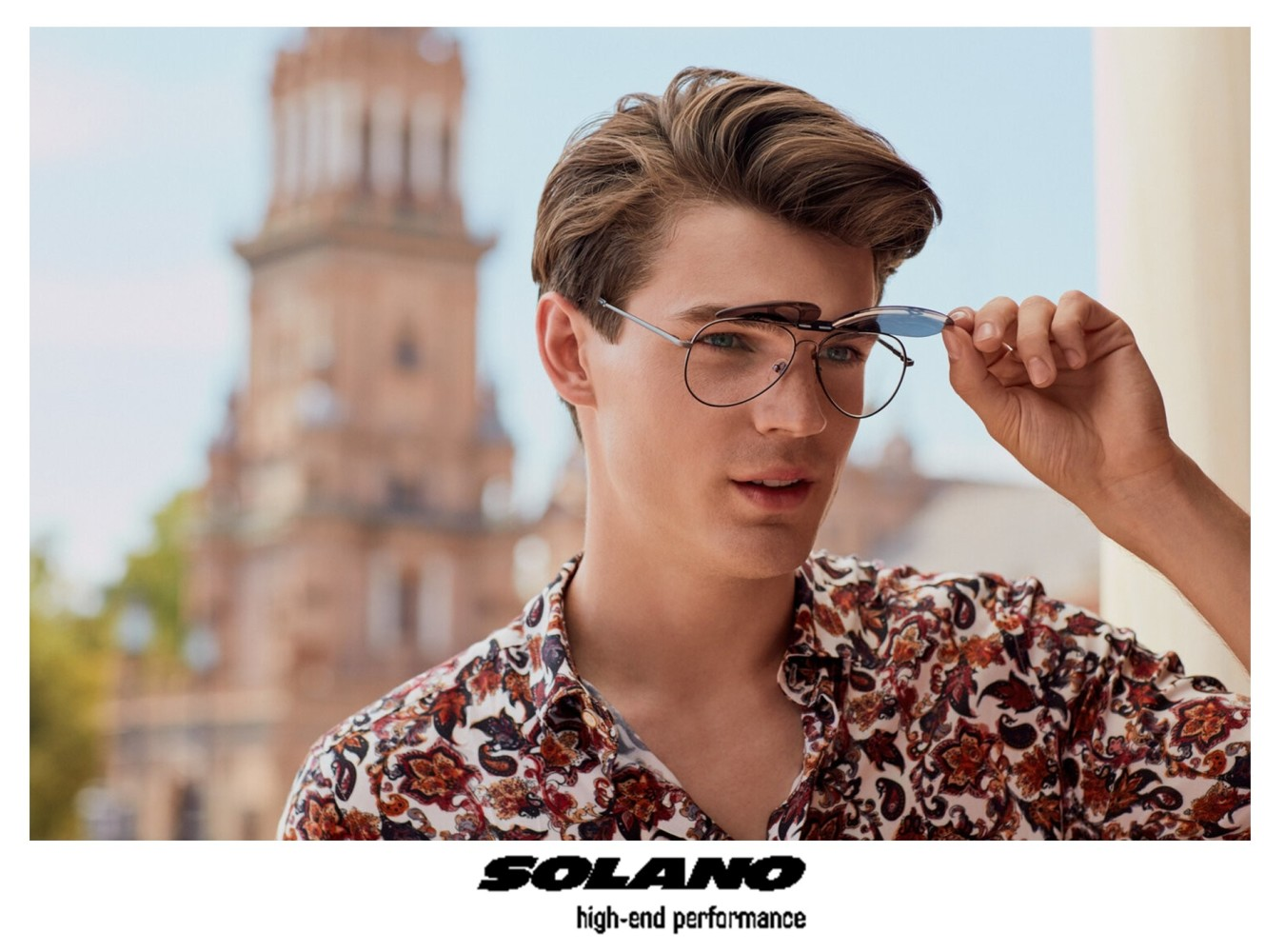 Maks Behr for SOLANO Eyewear Campaign