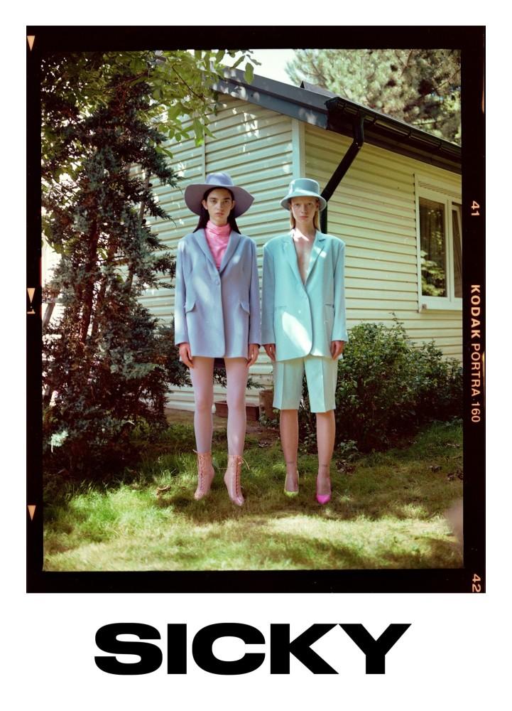 Alice Lab & Julia Borowiecka for SICKY Magazine