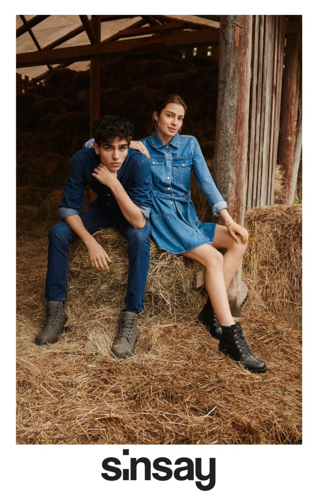 Lily & Yegor for SINSAY Campaign F/W 2020/21