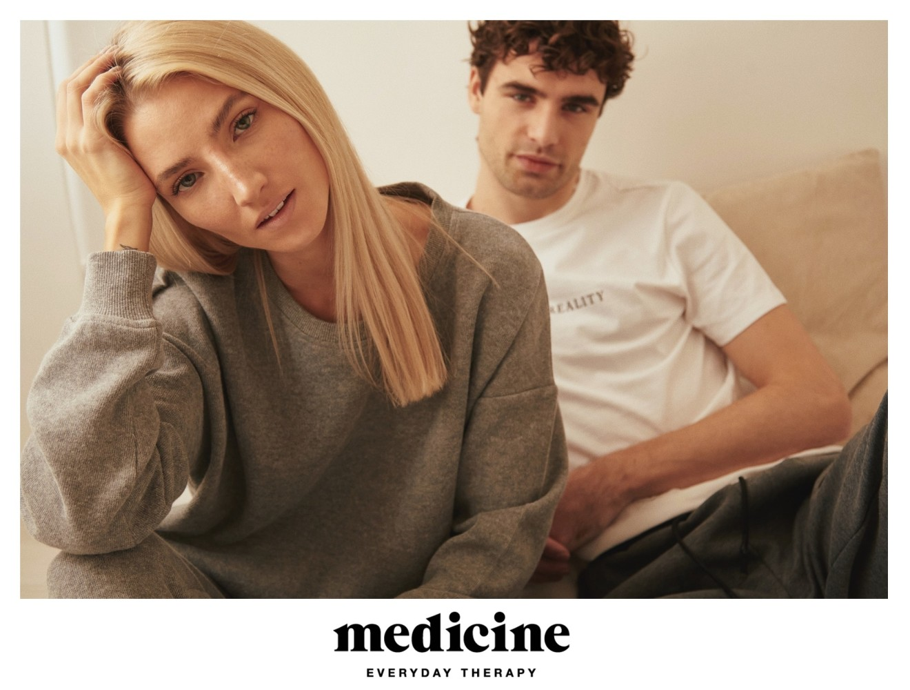 Agata Sieramska & Bartek Mroz for MEDICINE Homewear new collection