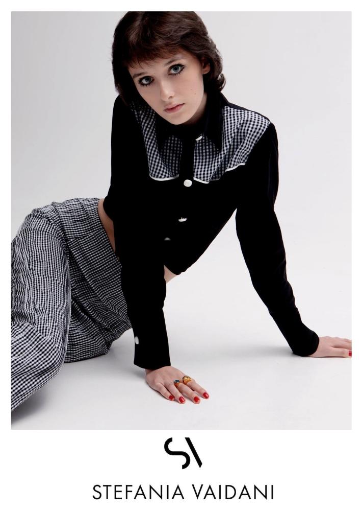 Marika Moskal by Haris Farsarakis for Stefania Vaidani