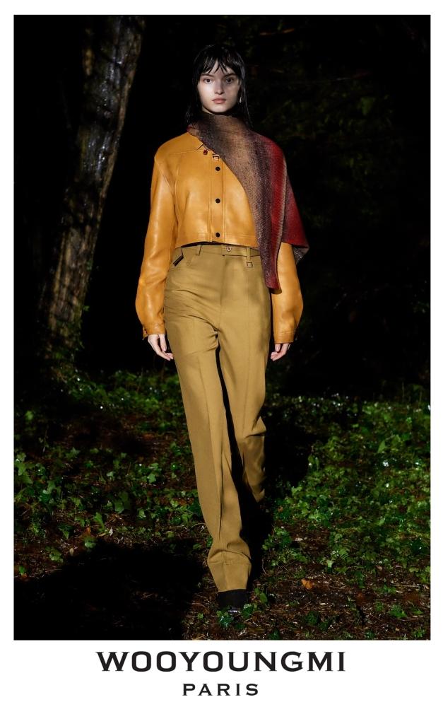 Greta Hajwos for WOOYOUNGMI Menswear Fall 2021/22