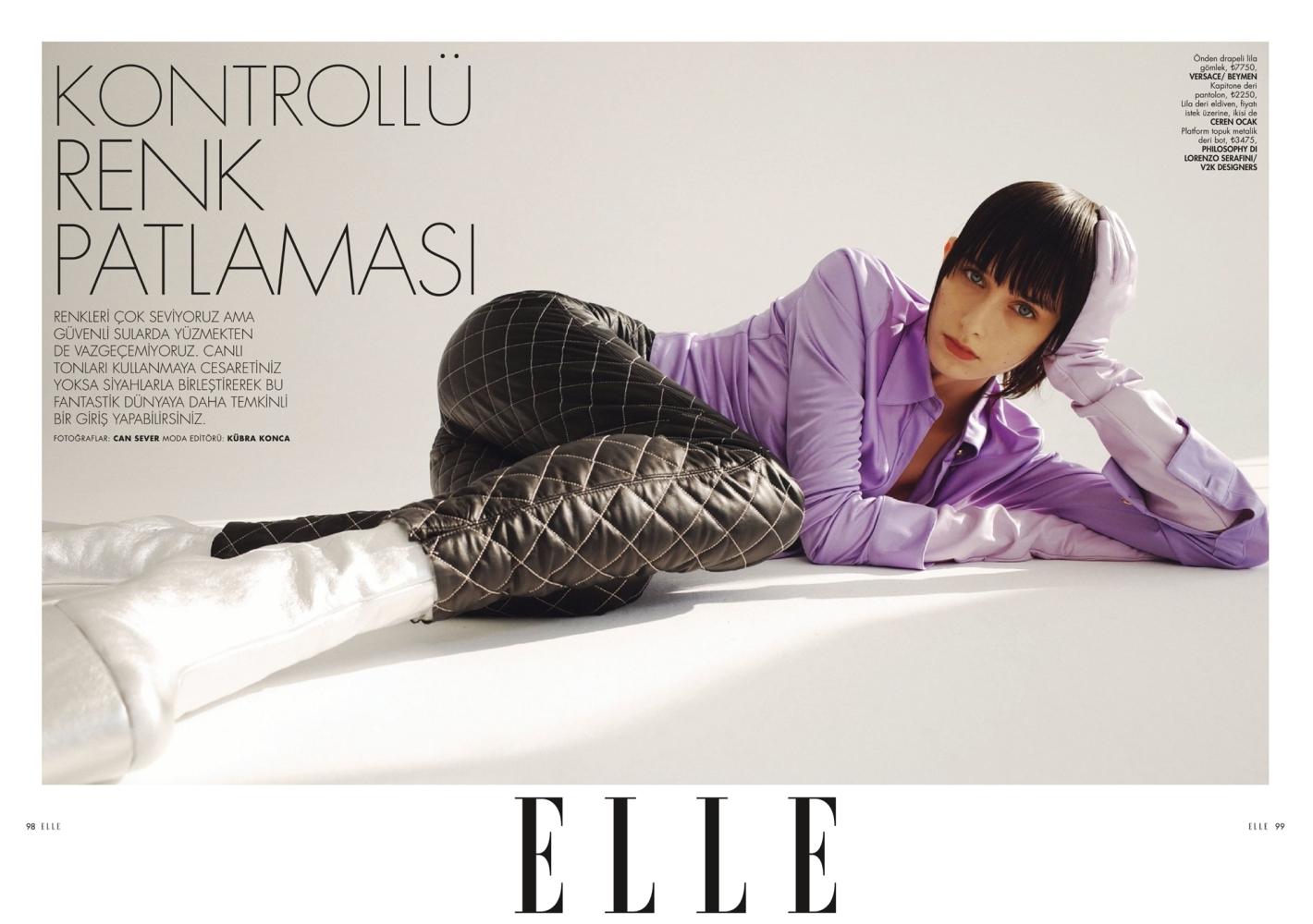 Marika Moskal for ELLE Turkey, February 2021