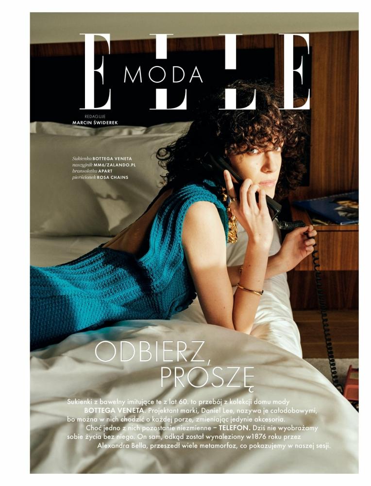 Emma Leveilley for Elle Polska, April 2021