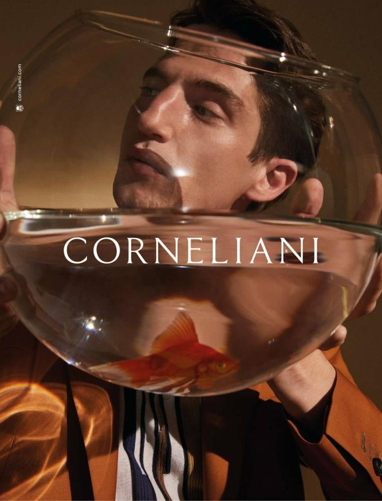 Anatol for Corneliani SS 21 Advertising