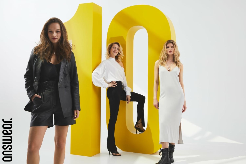 Olga & Arleta for Answear 10th anniversary campaign