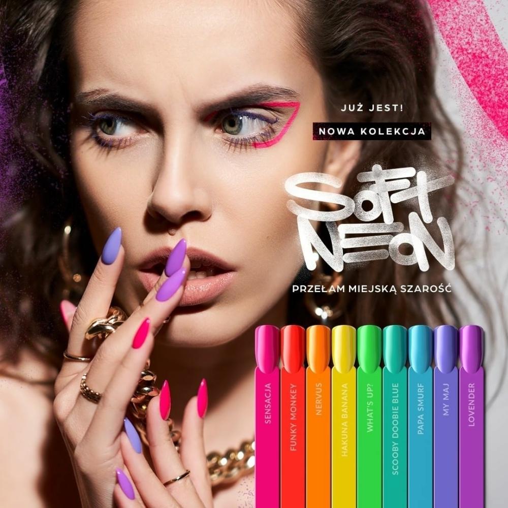 Dominika Robak for Indigo Soft Neon Collection