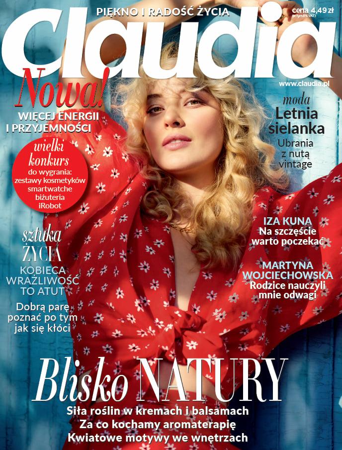 Linda Oryszewska for Claudia Cover story August 21
