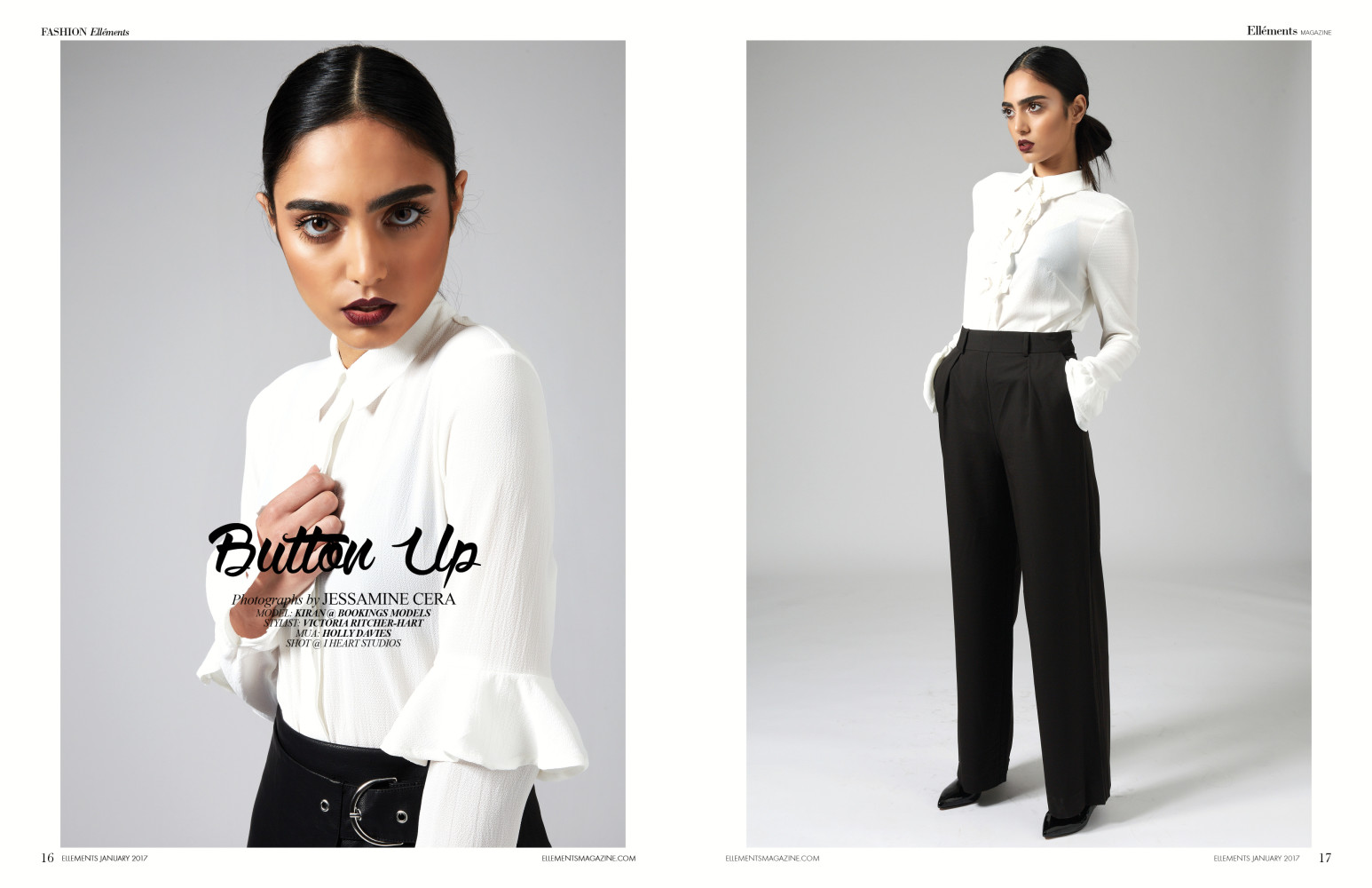 Kiran for Ellements Magazine
