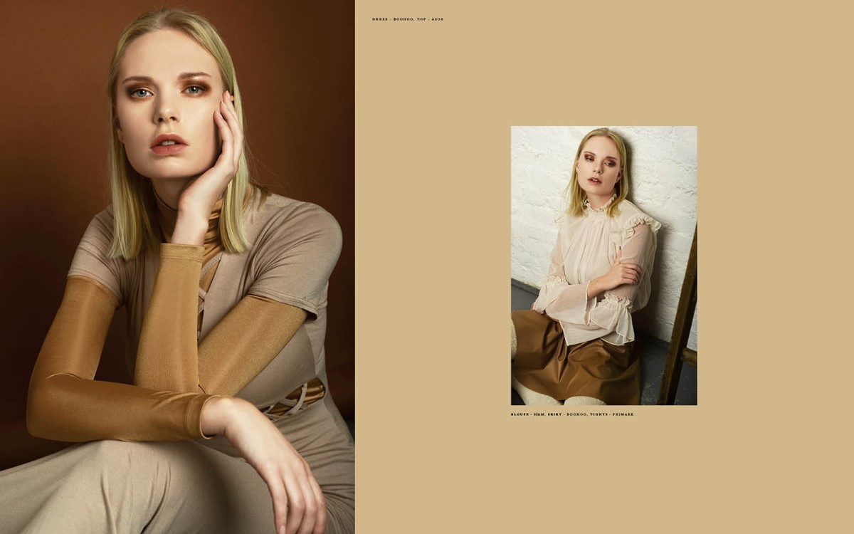 Jenni and Tamsin for Flanelle Magazine