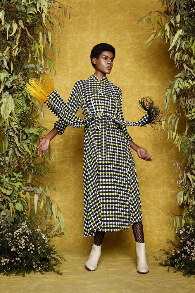 Tifeny for Duro Olowu Look Book