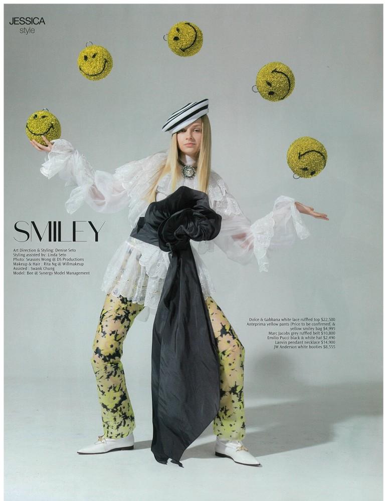 BEE for Jessica Magazine