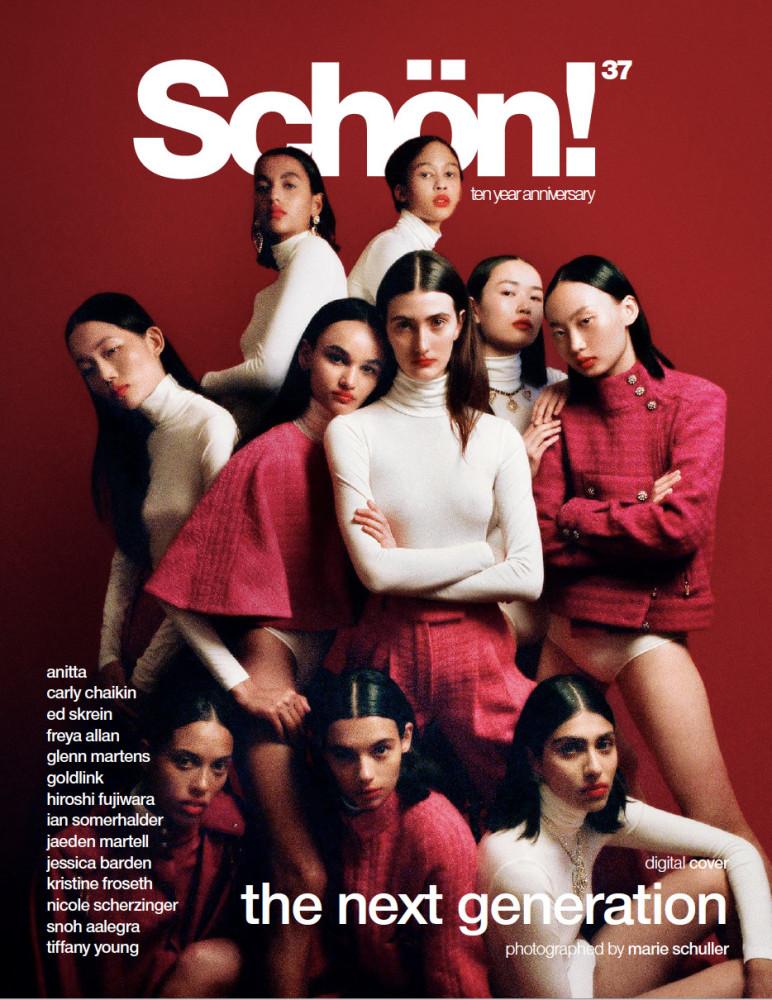 NAOMI for Schon Magazine
