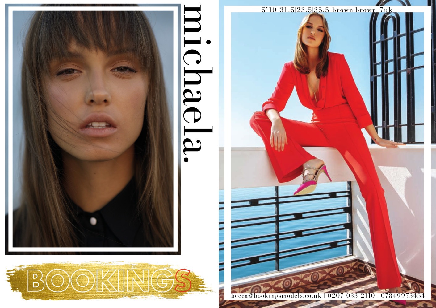 Bookings Models SS20 Showpack