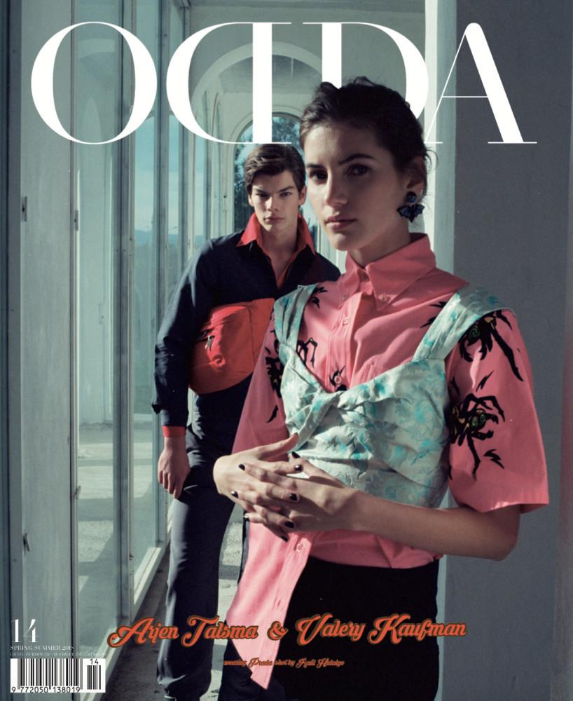 ODDA MAGAZINE COVER