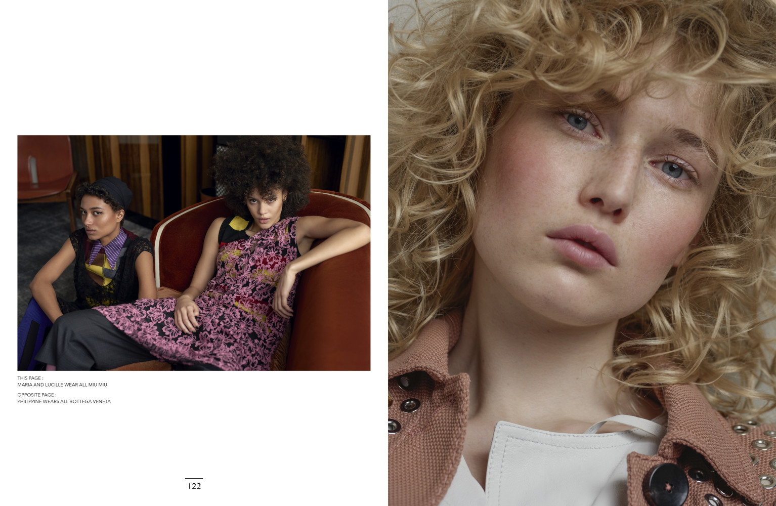 Bella, Estelle et Lucille for Narcisse magazine