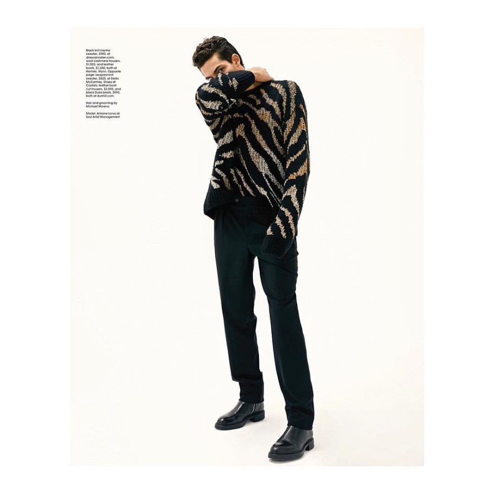 Antoine Lorvo for Modern luxury Magazine