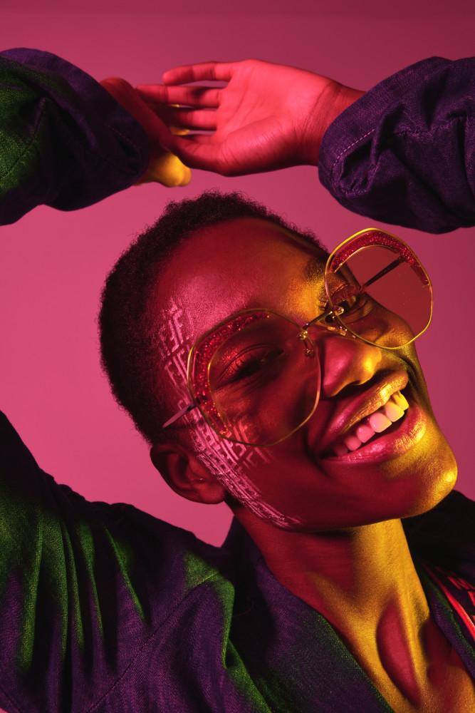 Tara Falla for Fendi Sunglasses
