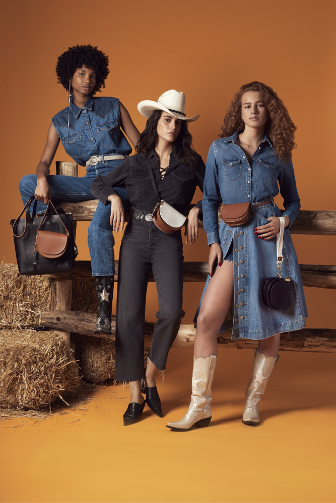 Danyrose for the new Levis Fall/Winter 2019 collection