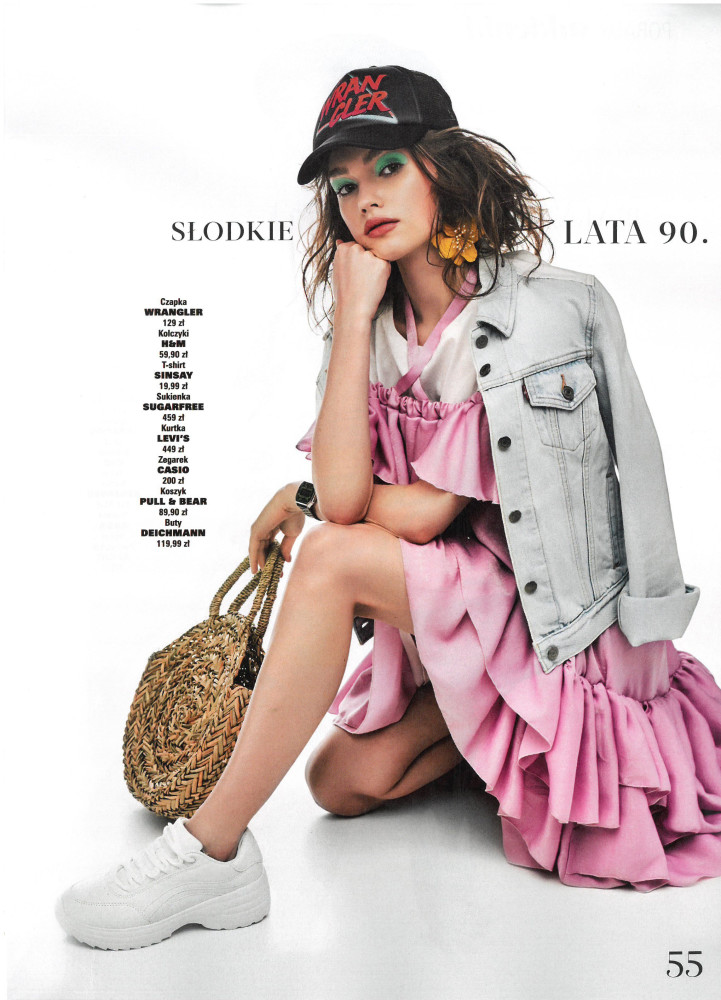 Krysia Ziolek for Hot Moda Magazine
