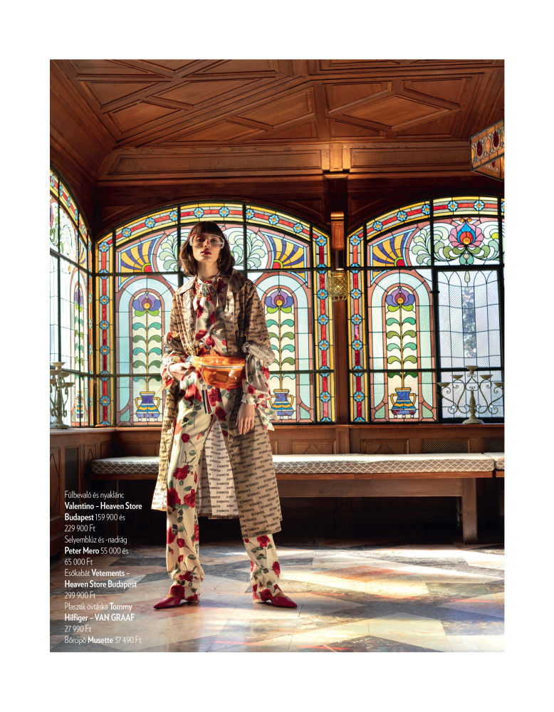 Mara Nica for Marie-Claire Magazine