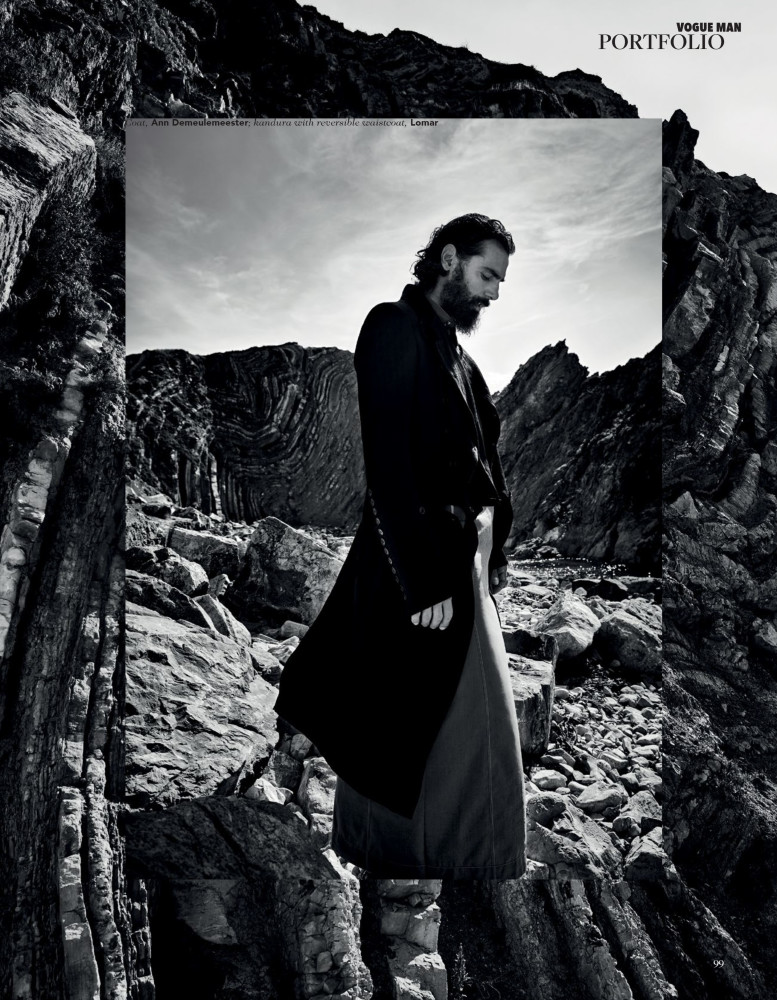 Paraskevas Boubourakas for Vogue Man Arabia