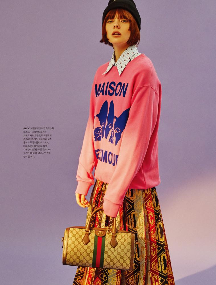 Carrie Korianina for Galleria Magazine