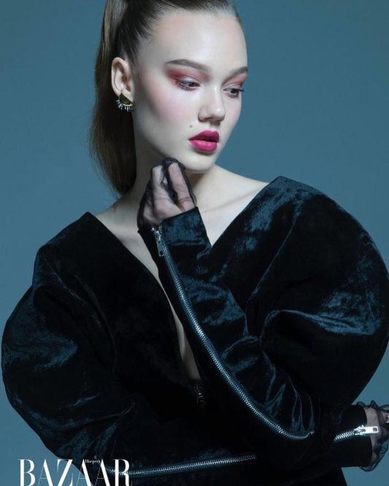 Vic for Harper's Bazaar China
