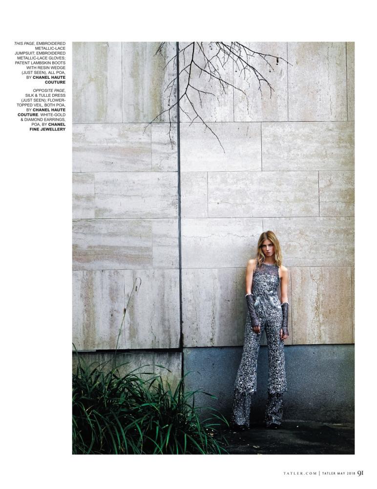 Anna Shoot for Tatler Magazine