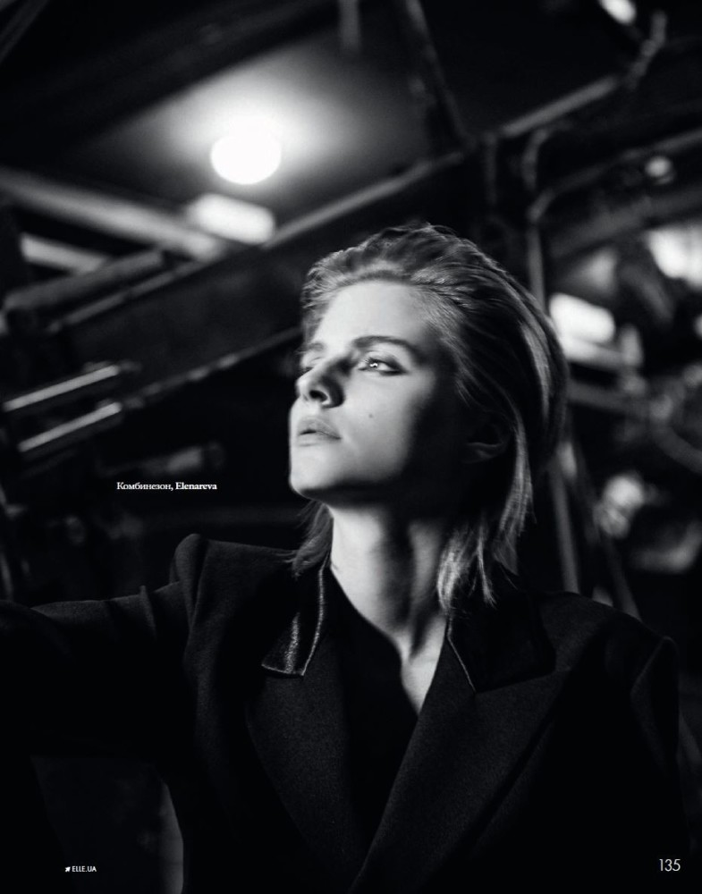 Anna Shut for Elle Ukraine