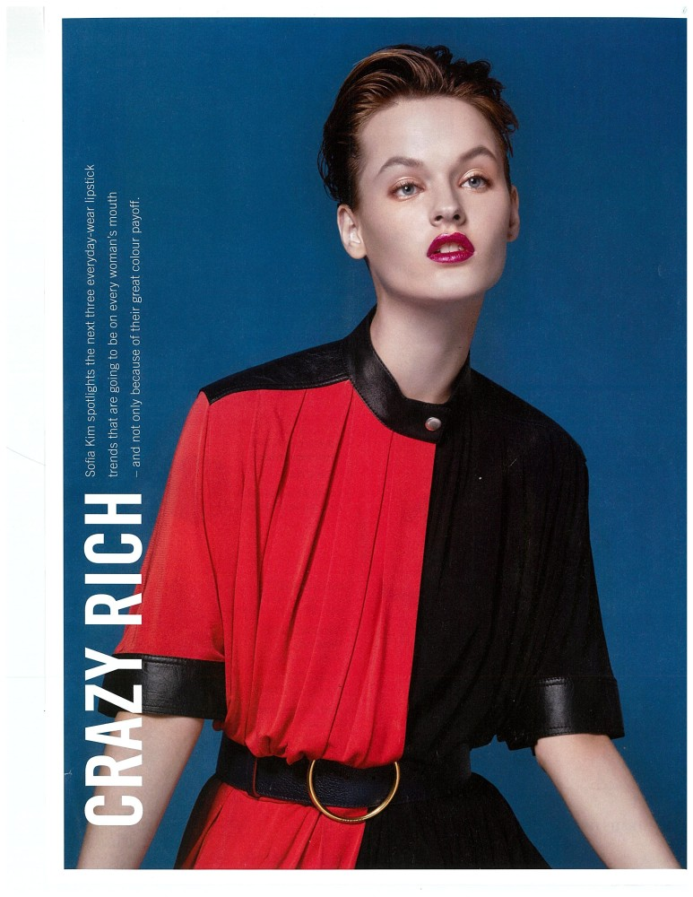 Marina Kasi for Fashion Spread