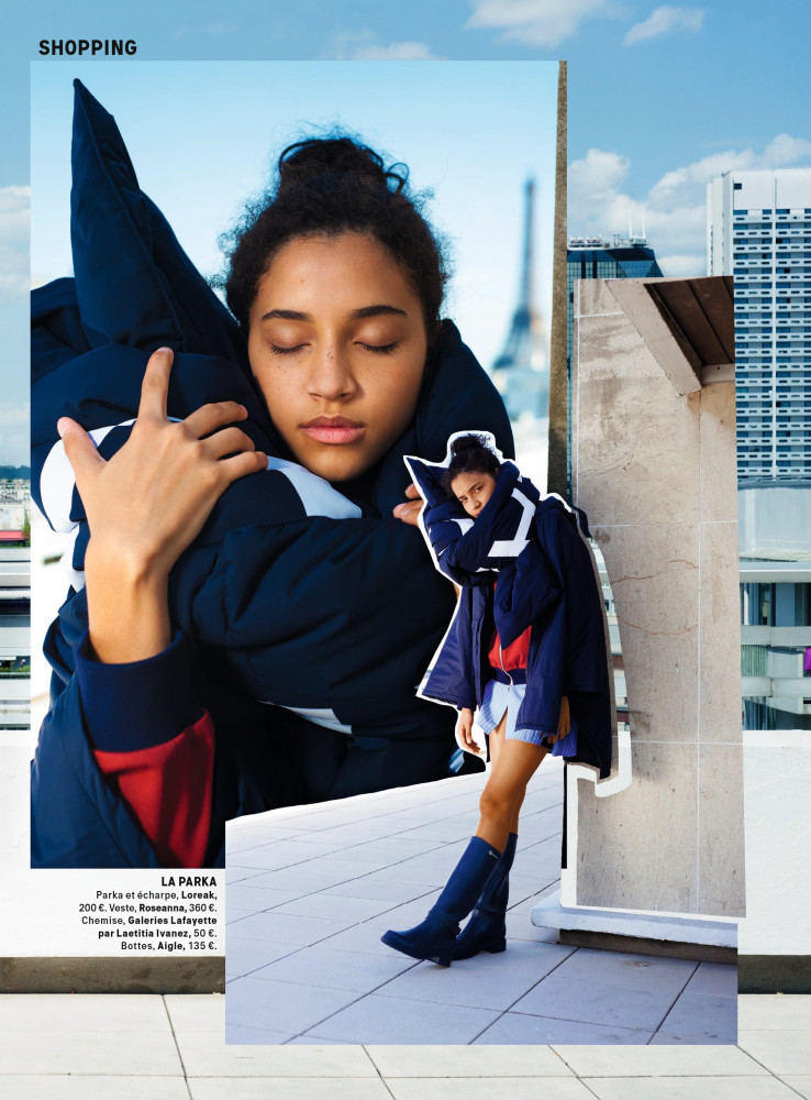 Thayanne Cybelle for Grazia France