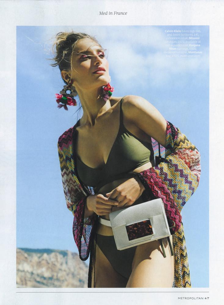 Alona Kravchenko for Metropolitan Magazine